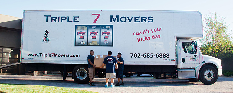 local movers Nevada truck