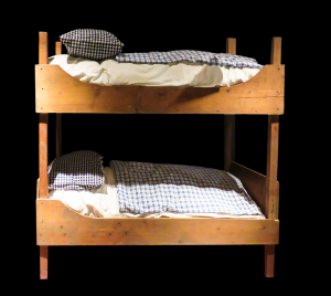 There are plenty of ways to relocate a bunk bed such as this one