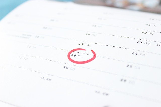 A calendar can help decide on the cheapest time to relocate.