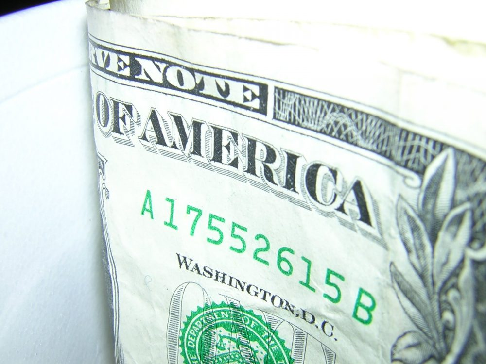 A dollar bill. Moving to Nevada doesn't cost an arm and a leg.