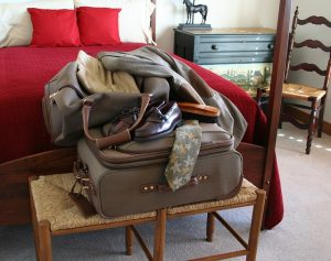 Use all the suitcases to pack your clothes like a pro.