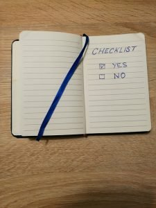 checklist of the final items to take care of before moving