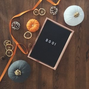 Halloween decorations - after you pack up your Halloween decor for storage, it's time to find space for it