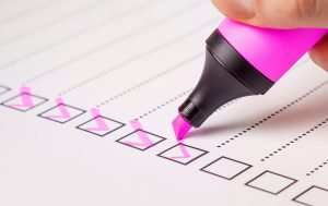 A checklist of questions to ask movers