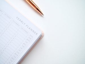 Yearly planner - one of the mistakes to avoid during your next move is choosing a bad moving date