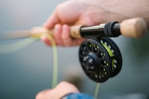 Reels on fishing rod that you should remove before pack fishing equipment