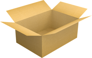 a box - Packing your garage