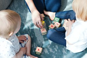 moving with kids stress-free by playing with them