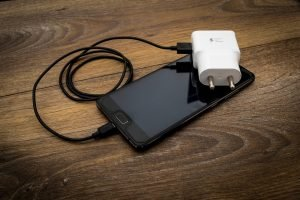 packing tips for moving in a hurry: a phone and charger