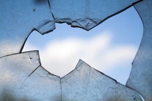 Moving in a hurry: a broken window