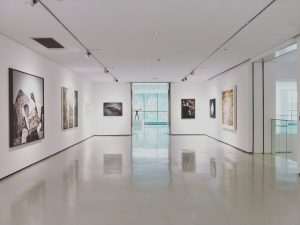 An exhibition of paintings