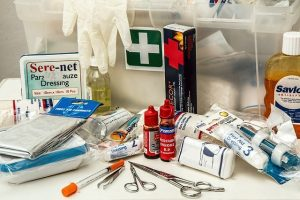a first aid kit - relocate your safe