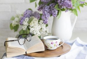 a book and coffee - handle an emergency move