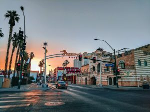 Las Vegas during the day
