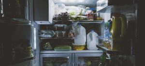 an inside view of the refrigerator