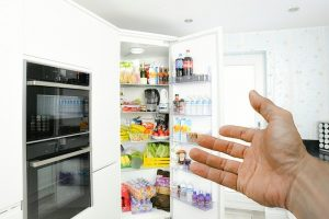 a fridge - do not go over your budget