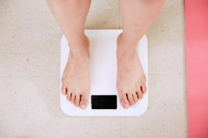 weigh your boxes by using your personal scale