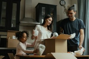 unpacking - make a timeline of your post-moving activities