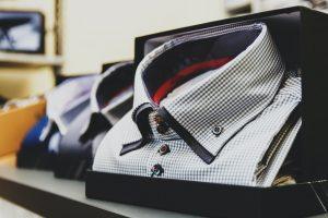 Department store workers can pack shirts without wrinkling them
