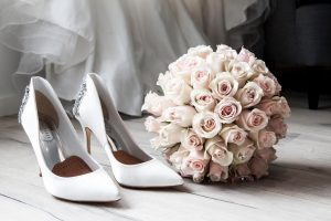 Flowers and heels