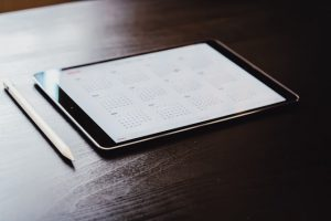 a tablet - best time to book movers