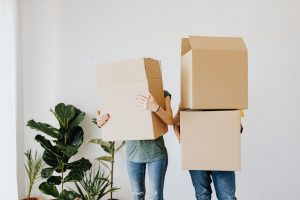 people holding boxes