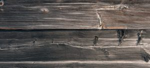 Wooden surface with scratches