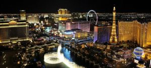 the culture shock you can expect after moving to Las Vegas is how bright the city is