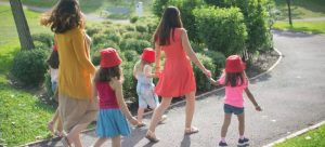 family walking and not thinking about expanses related to Boulder City relocation