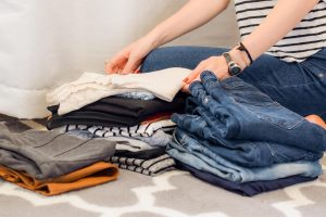 Packing advice for minimalists moving to Boulder City about sorting clothes